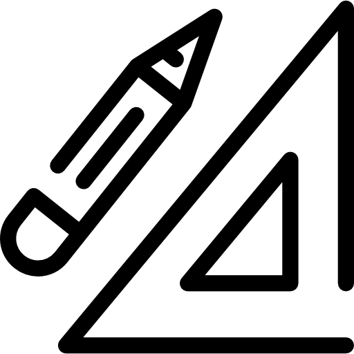 Ruler And Pencil Icons Free Download