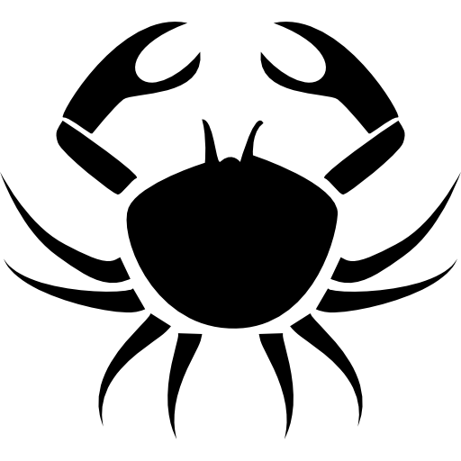 Crab Cancer Symbol Icons Free Download