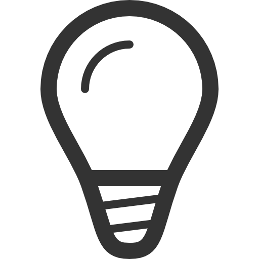 Small Light Bulb Free Vector Icons Designed