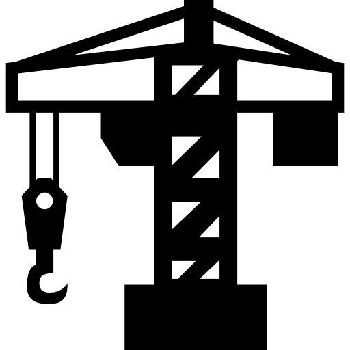 Architecture Crane Tool Icons Free Download