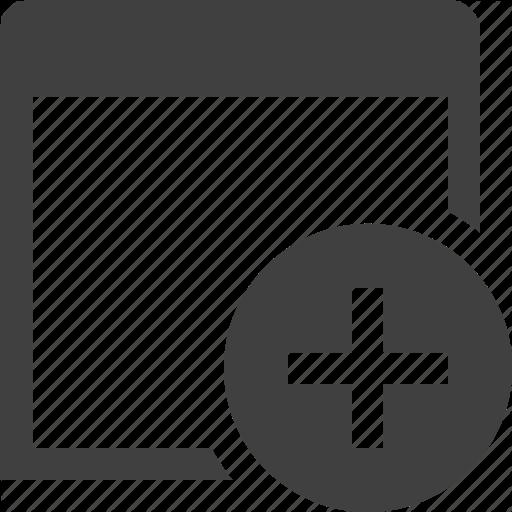 Add, App, Application, Create, New, Program, Window Icon
