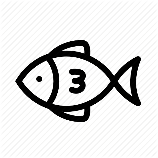 Animal, Fish, Fishing, Food, Helthy, Sea, Sea Creature Icon