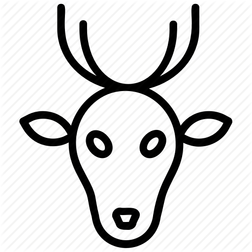 Animal Deer, Deer Antlers, Deer Creek, Deer Lake, Musk Deer Icon