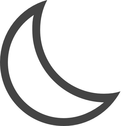 Crescent, Moon Icon Free Of Vaadns