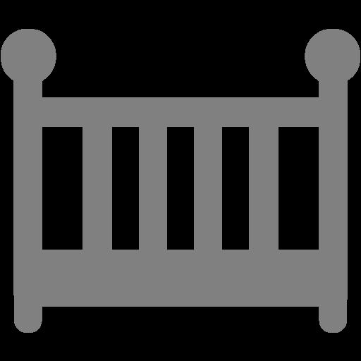 Gray Crib Icon