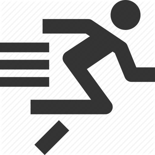 Athletics, Country, Cross, Rubbing, Run, Sports, Sprint Icon