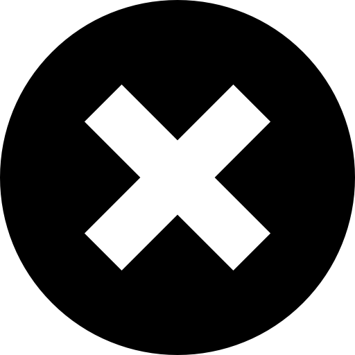 Close Cross Symbol In A Circle