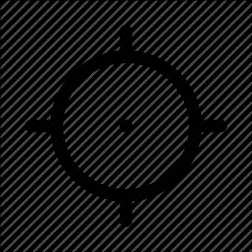Aim, Crosshair, Ios, Target, Web Icon