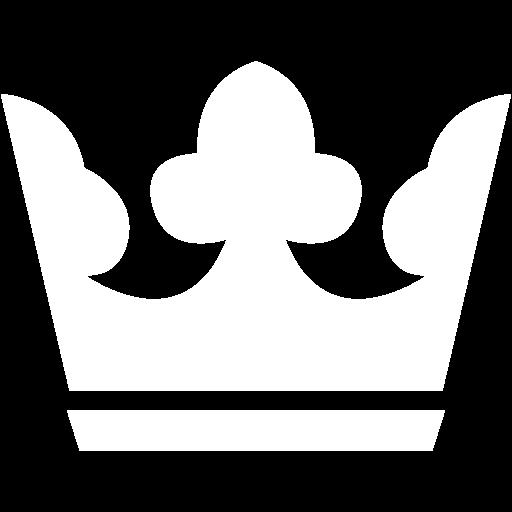 White Crown Icon