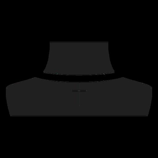 Crucifix Choker Necklace Icon