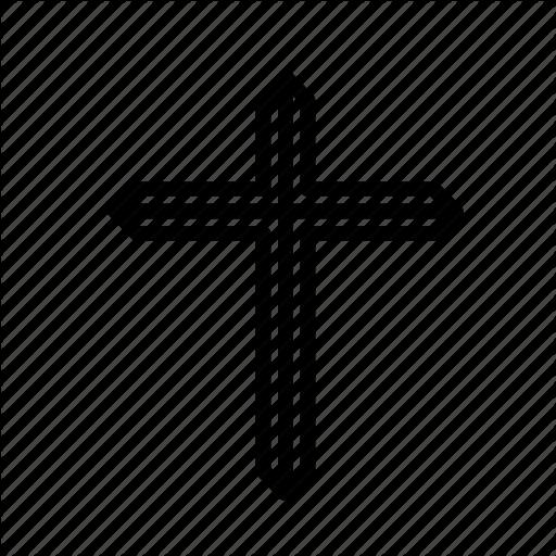 Cross, Crucifixion, Easter, Golden, Sacrifice Icon