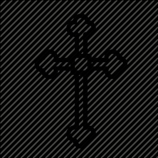 Cross, Crucifixion, Easter, Orthodox, Sacrifice Icon