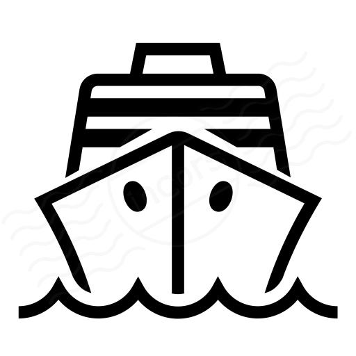 Iconexperience I Collection Cruise Ship Icon