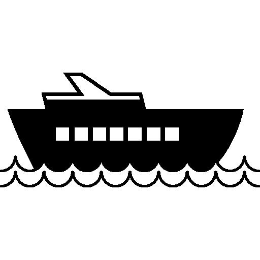 Cruise Ship, Ios Interface Symbol Icons Free Download