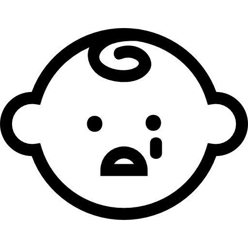 Baby Face Crying Icons Free Download