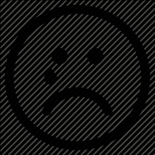 Circle, Cry, Crying, Emoji, Emoticon, Face, Sad Icon