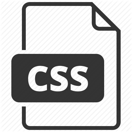 Cascading Style Sheet, Css, Format Icon