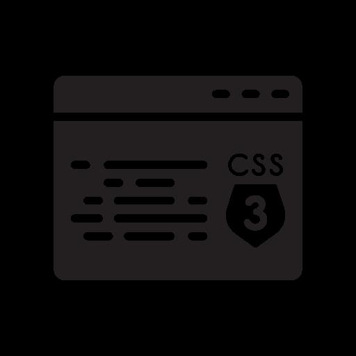 Css, Development, Html, Javascript, Shield Icon
