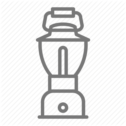Battery, C Lantern, Light, Portable, Scout Icon