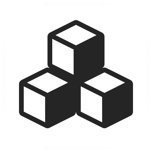 Cubes Icon Iconexperience
