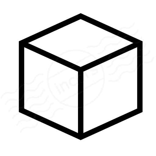 Iconexperience I Collection Object Cube Icon