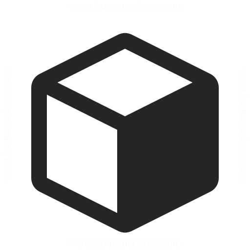 Object Cube Icon Iconexperience