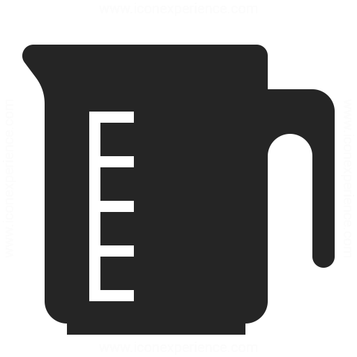 Measuring Cup Icon Iconexperience
