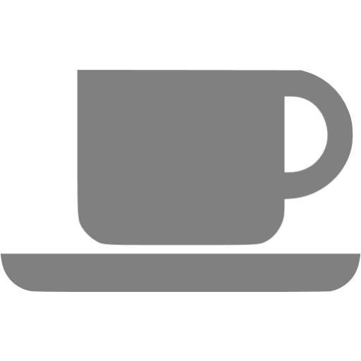 Gray Coffee Icon