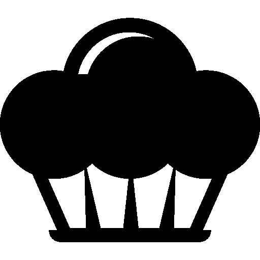 Cupcake Symbol Icons Free Download