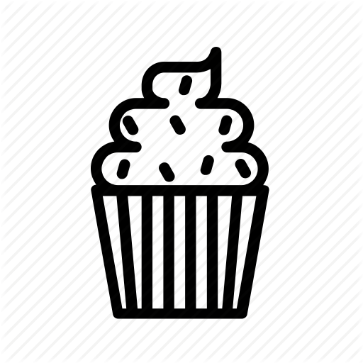 Bakery, Cupcake, Cupcake Icon, Dessert, Party, Patisserie Icon