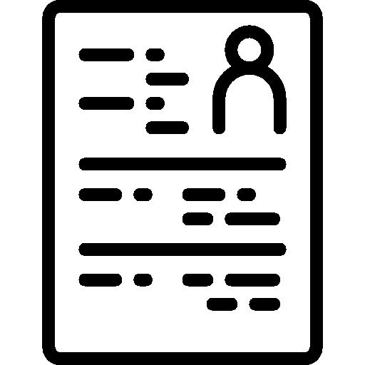 Curriculum Icon Office Set Smashicons