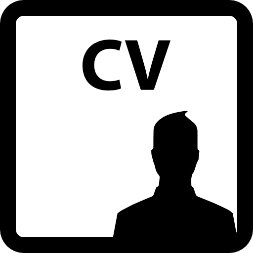 Curriculum Vitae Of A Man Icons Free Download