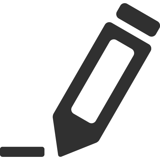 Edit Icon Mono General Iconset Custom Icon Design