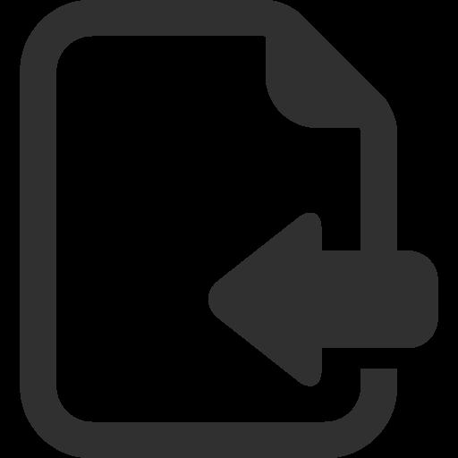 Import Icon Mono General Iconset Custom Icon Design