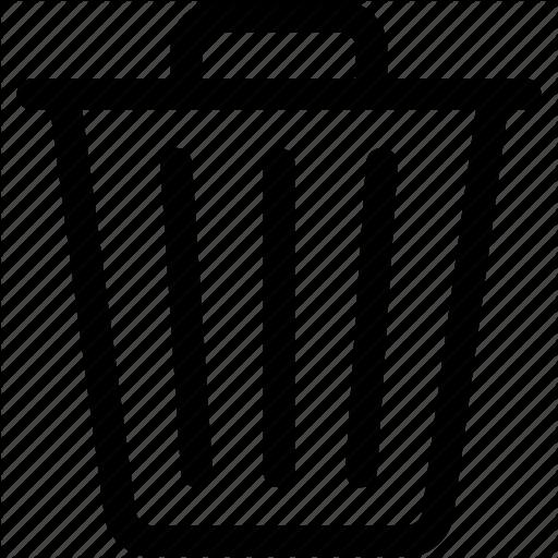 Can, Delete, Garbage, Recycle Bin, Remove, Trash Icon