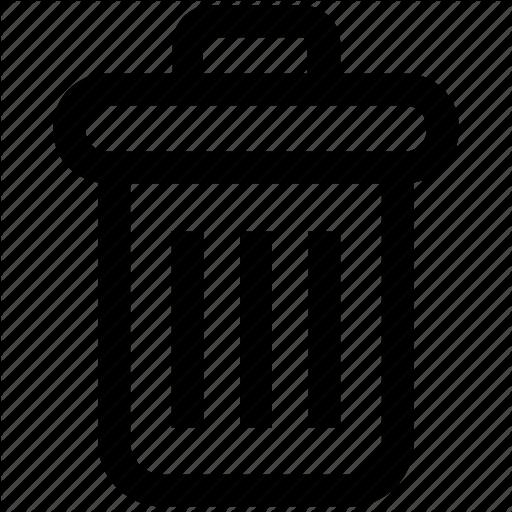 Cleaning Bin, Delete, Dust Bin, Dustbin, Recycle Bin, Trash, Trash