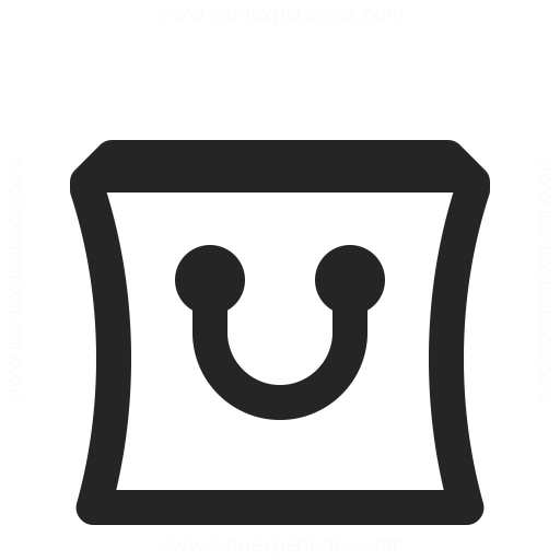 Shopping Bag Icon Iconexperience