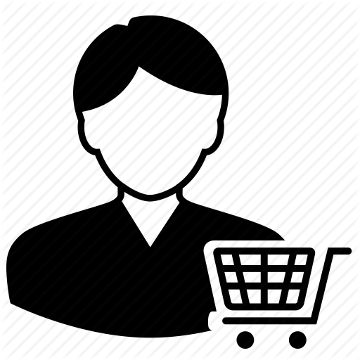 Customer, Ecommerce Icon