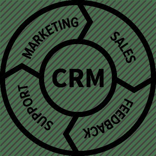 Customer Management Relationship Icon