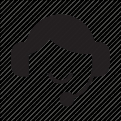 Customer Service, Headphone, Help, Smile Icon