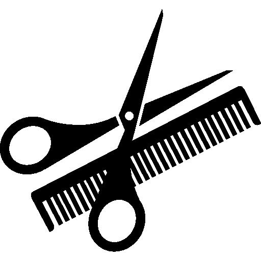 Scissor And Comb Free Vector Icons Designed