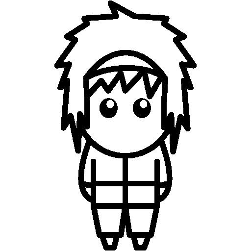 Japan, Masculine, People, Animation, Comic, Japanese, Manga Icon