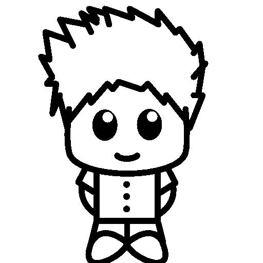 Japanese, Manga, Animation, Masculine, People, Comic, Japan Icon