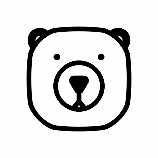 Cute Bear Icon