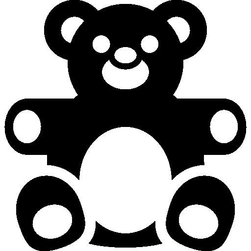 Teddy, Bear, Panda, Toy Icon