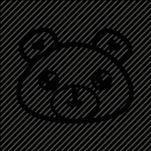 Animal, Bear, Emoji, Forest, Teddy, Teddy Bear Icon