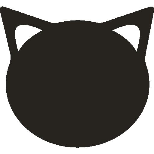 Cats, Feline, Cat, Cat Outline, Cat Cartoon, Animals, Sitting Cat Icon