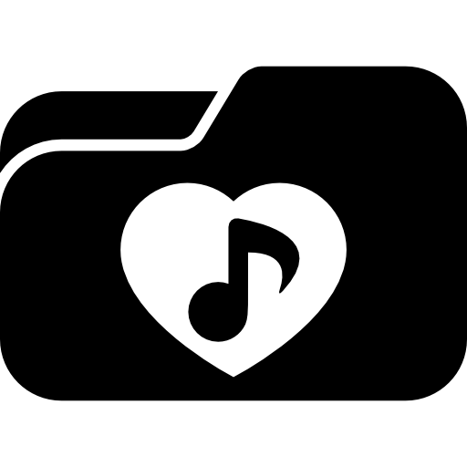 Love Songs Folder Icons Free Download