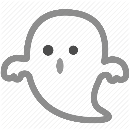 Cute, Ghost, Halloween, Haunted, Spooky Icon