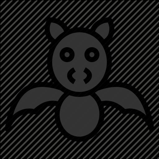 Animal, Bat, Cute, Festival, Halloween, Scary, Spooky Icon